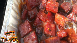 Pastrami Burnt Ends - Montreal Smoked Meat Burnt Ends On The Mini WSM