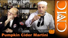 Halloween Cocktail- Pumpkin Cider Martini