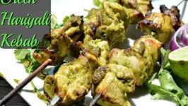 Hariyali Kebab /Green Kebab