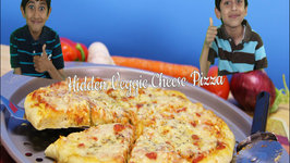 How to make your kids eat their veggies - Hidden Veggie Cheese Pizza