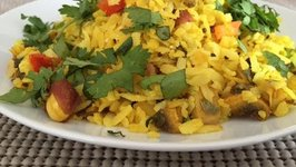 How to make Indian Snacks Vegetable Poha
