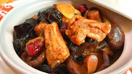 The BEST Braised Pork Ribs & Mushrooms Recipe