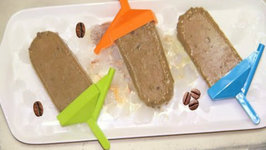 Coffee Chocolate Chip Popsicles - Dairy and Sugar Free