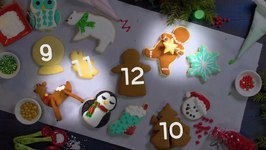 12 Sugar Cookies Of Christmas
