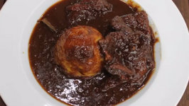 Dutch Oven Entrana Sweet and Sour Aka Sauerbraten Goulash - English Grill and BBQ-Recipe