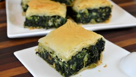 Spanakopita Greek Spinach Pie Recipe  How to Use Phyllo Pastry Sheets
