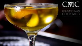 The Chrysanthemum Cocktail / Dry Vermouth  Benedictine  Win
