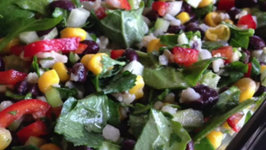 Leafy Green Black Bean Salad