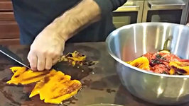 How to Make Homemade Roasted Peppers with Olive Oil and Gralic