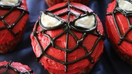 How To Make Spiderman Cupcakes