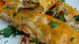 Chorizo and Butternut Squash Enchiladas