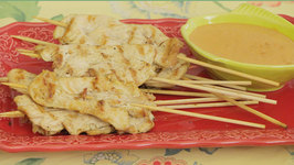 Super Bowl Recipe- Thai Chicken Satay With Peanut Sauce