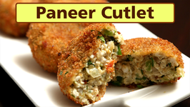 Paneer Cutlet  Easy Starter / Snack Recipe  Ruchi's Kitchen