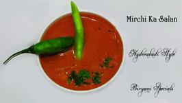 Mirchi ka Salan - Hyderabadi Style - Biryani Specials