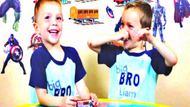 Soda Pop Carbonated Candy Taste Test - Kids Candy Review with Eli and Liam