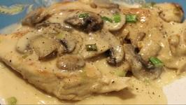 Chicken/Chicken Scallopini With Mushrooms
