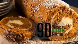 90 Second Pumpkin Pecan Roll