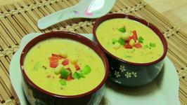 Cheesy Corn Soup - Quick and Easy