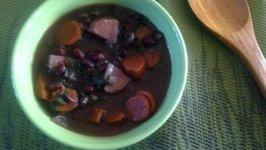 Easy Vegan Black Beans Soup