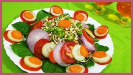 Sprout Mungbeans Salad Healthy Indian