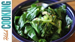 How To Cook Collard Greens - Vegetarian Collard Greens