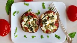 Dinner Recipe: Portobello Pizzas