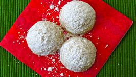 Cinnamon Mexican Wedding Cookies - Kin's Cookie Collaboration