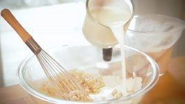 Whole-Grain Buttermilk Triple Berry Pancake Recipe