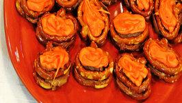 Pumpkin Pretzels  Halloween