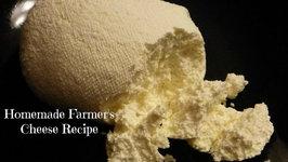 Homemade Farmer's Cheese - Quark - Творог