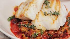 How To Make Cod With Chorizo And Leeks