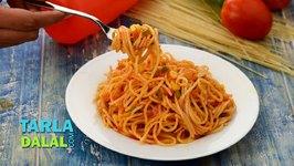 Quick Spaghetti, Veg Spaghetti