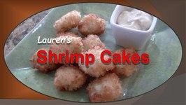 Lauren's Shrimp Cakes