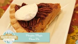 Pumpkin Maple Pecan Pie