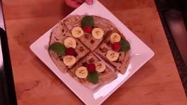 Banana Waffled Quesadilla