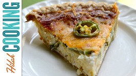 Jalapeño Popper Quiche - How To Make Quiche