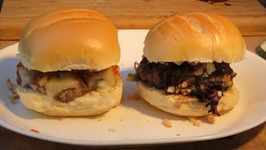 His And Hers Bison Burgers
