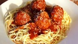 Homemade Meatballs And Sauce