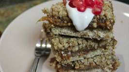 10 Week Pregnancy - Raw Vegan Date Squares