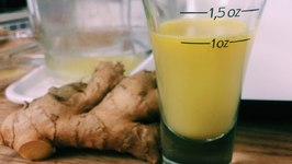 Raw Ginger Juice -Hangover Cure