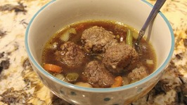 Soup / Meatball Soup With Vegetables