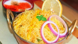 How to make Quick Plain Biryani - Indian Spicy Rice