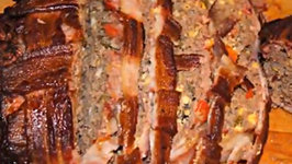 BBQ Bacon and Cheddar Meatloaf