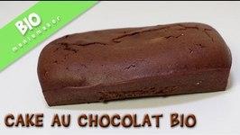 Cake BIO au chocolat