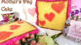 Mother's Day Inside Surprise Cake