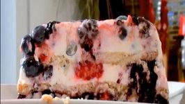 Summer Berry Icebox Cake with Greek Yogurt and Coconut Whipped Cream