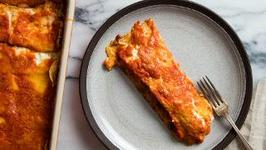 How to Make Crepe-Style Manicotti With Veal Ragù