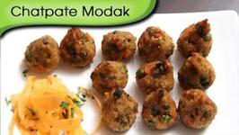 Chatpate Modak  Savoury Modak Recipe  Ganesh Chaturthi Special  Ruchi's Kitchen