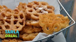 Rose Cookies - Achappam (Christmas Recipe)