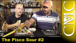 Santiago Sour  Pisco Sour 2 -Muddled Grapes!